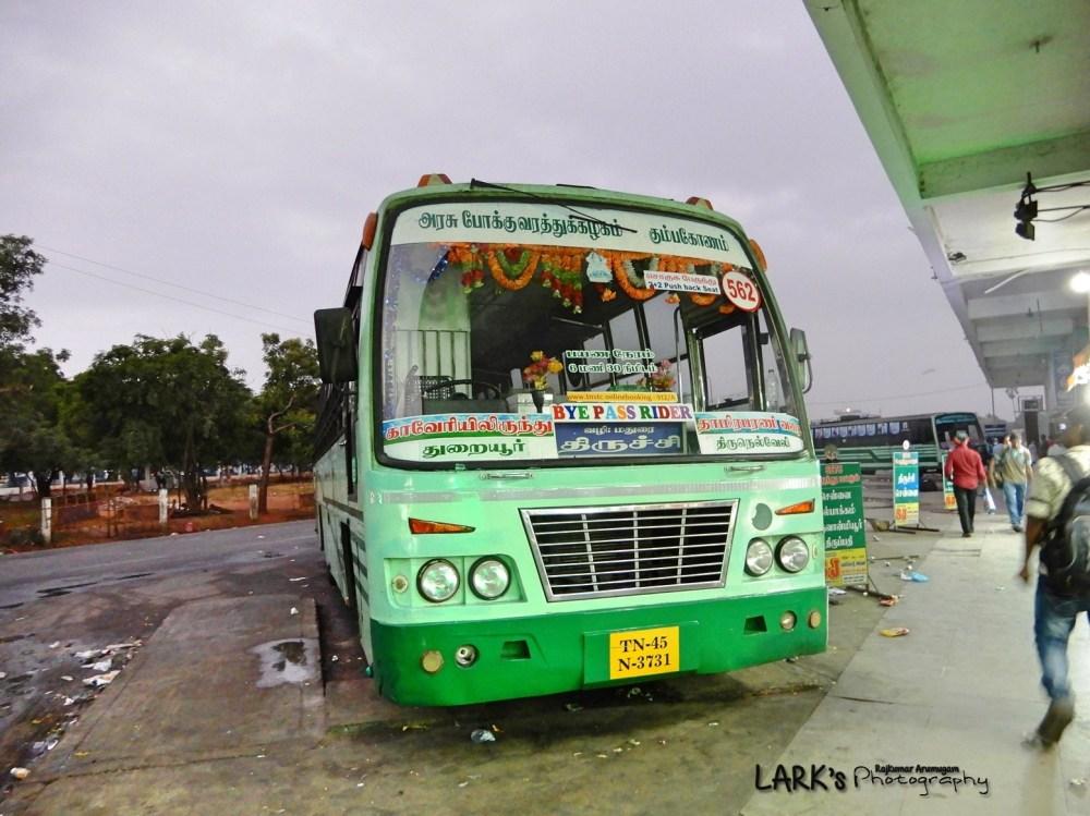 TNSTC TN 45 N 3731 Thuraiyur - Tirunelveli