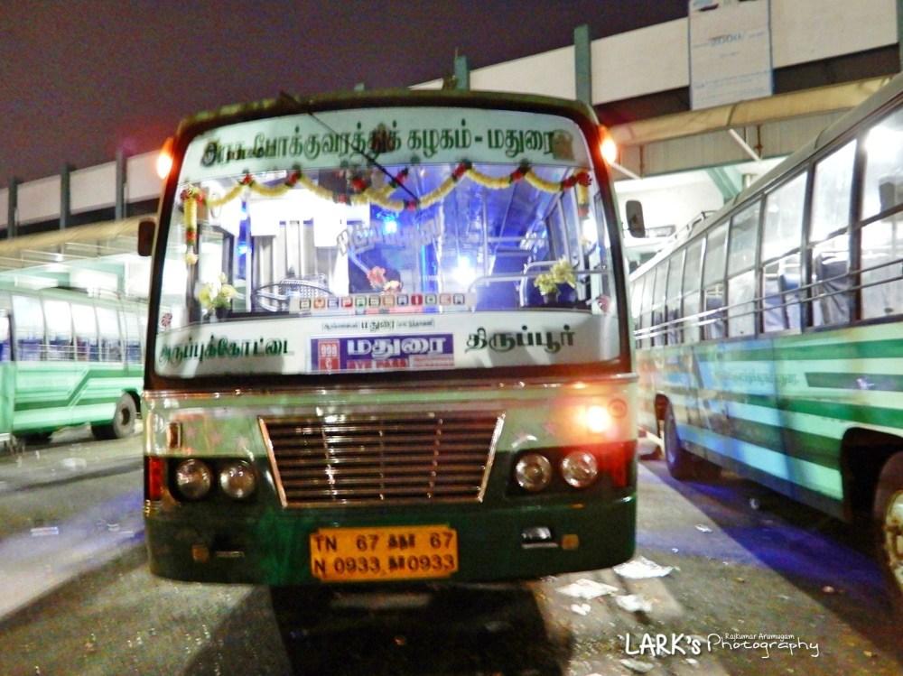 TNSTC TN 67 N 0933 Tiruppur - Aruppukottai