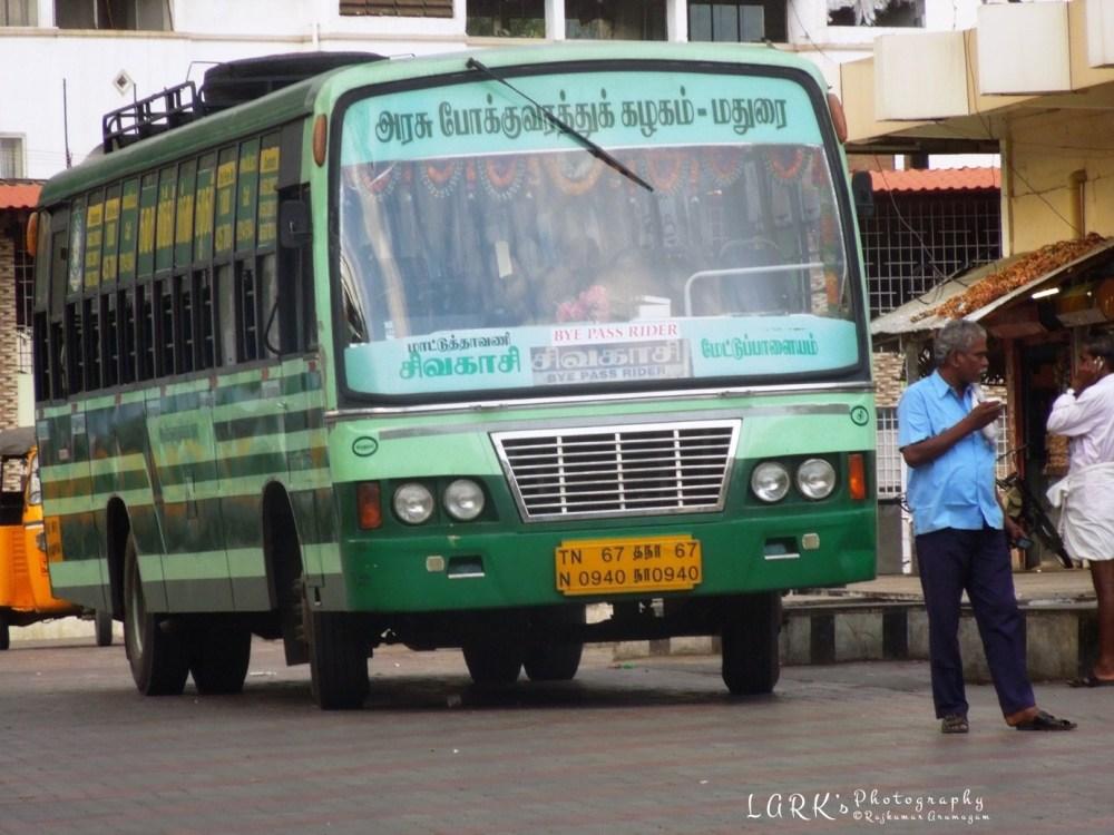 TNSTC TN 67 N 0940 Mettupalayam - Sivakasi