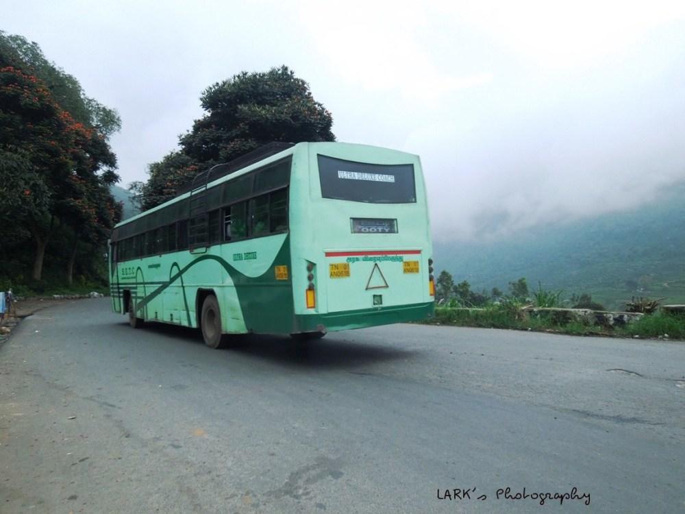 SETC TN 01 AN 0618 Ooty - Thiruvananthapuram