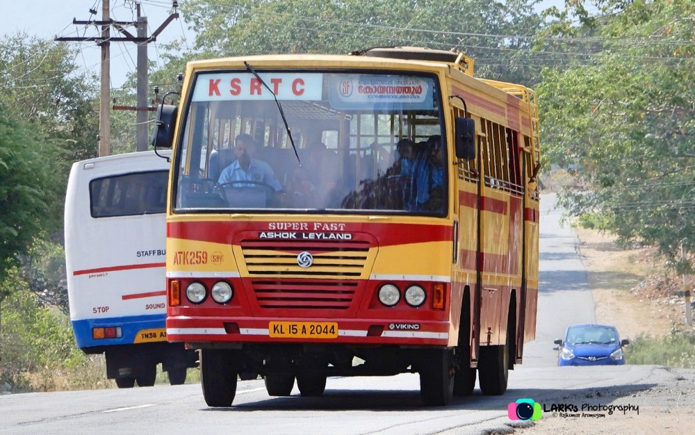 KeSRTC ATK 259 Sulthan Bathery - Coimbatore