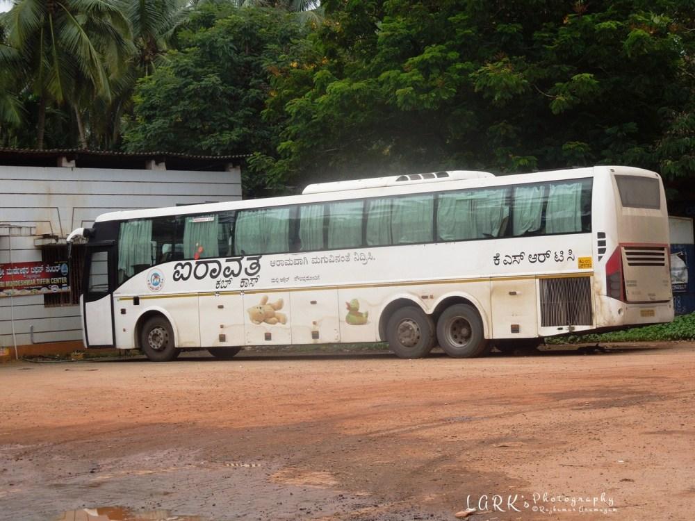 KSRTC KA-01-F-9150 Bangalore - Murdeshwara