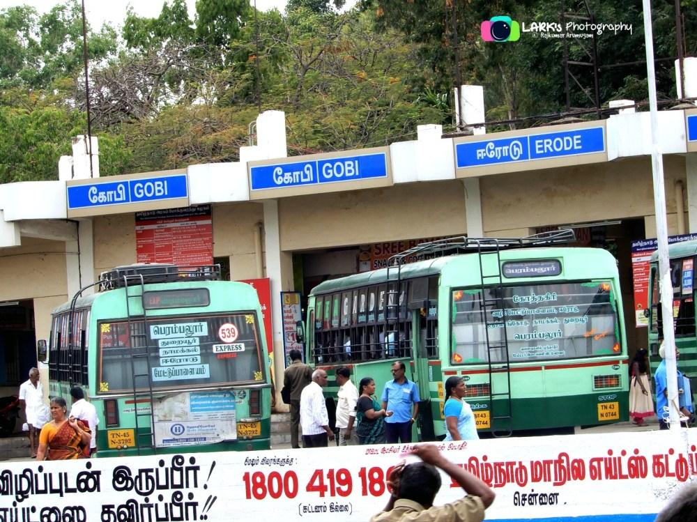 TNSTC TN 45 N 3792 Mettupalayam - Perambalur