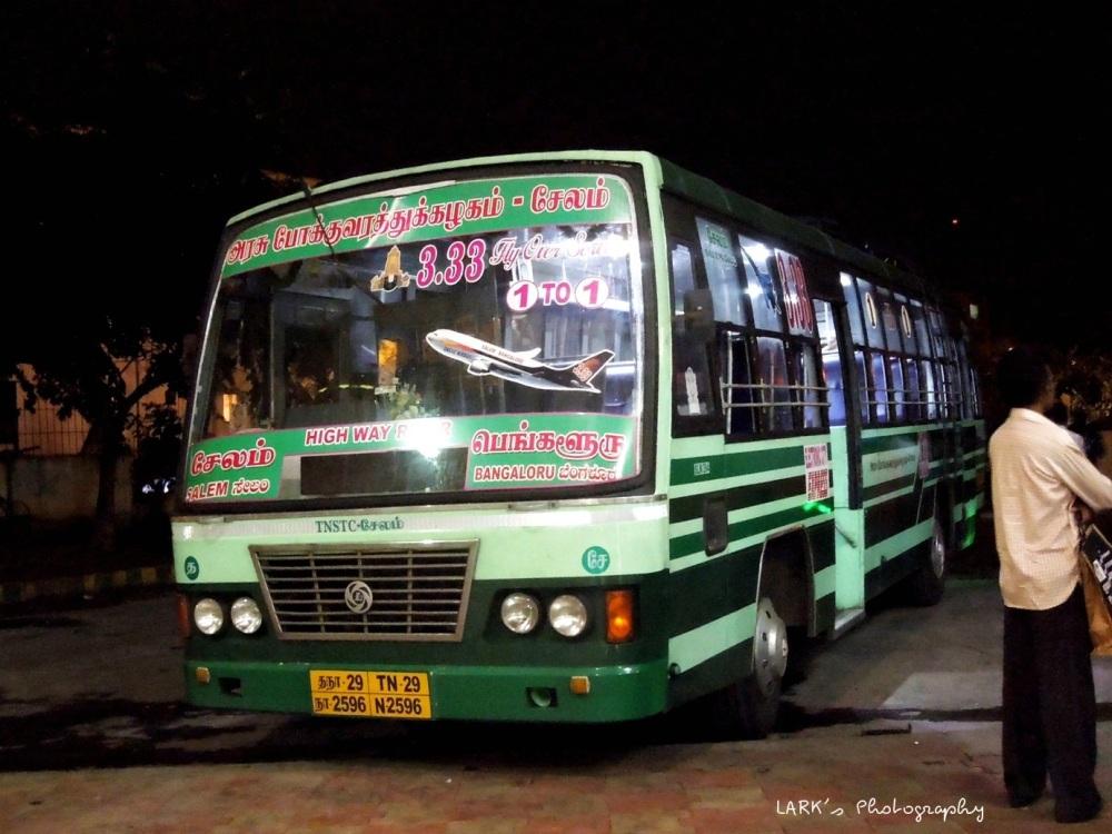 TNSTC TN 29 N 2596 Salem - Bangalore