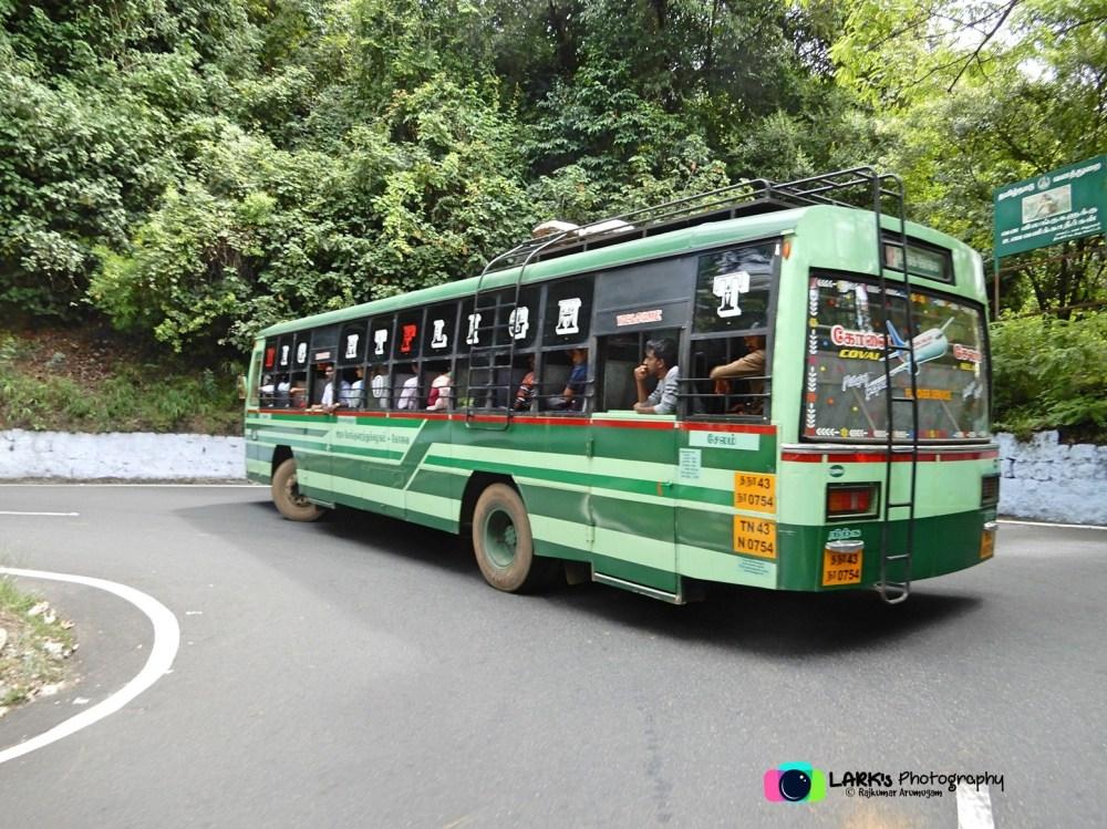 TNSTC TN 43 N 0754 Ooty - Coimbatore - Salem