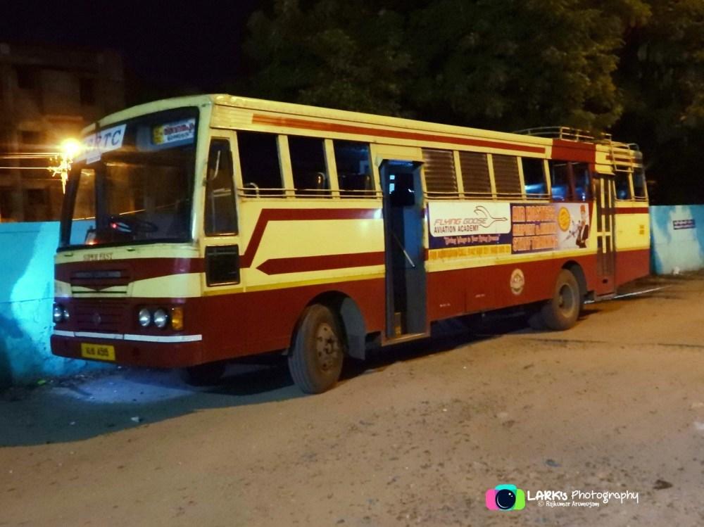 KSRTC RSE 951 Coimbatore - Thiruvananthapuram