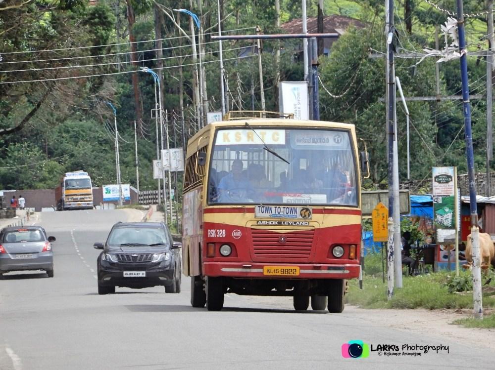 KeSRTC RSK 328 Muniyara - Kottayam - Munnar