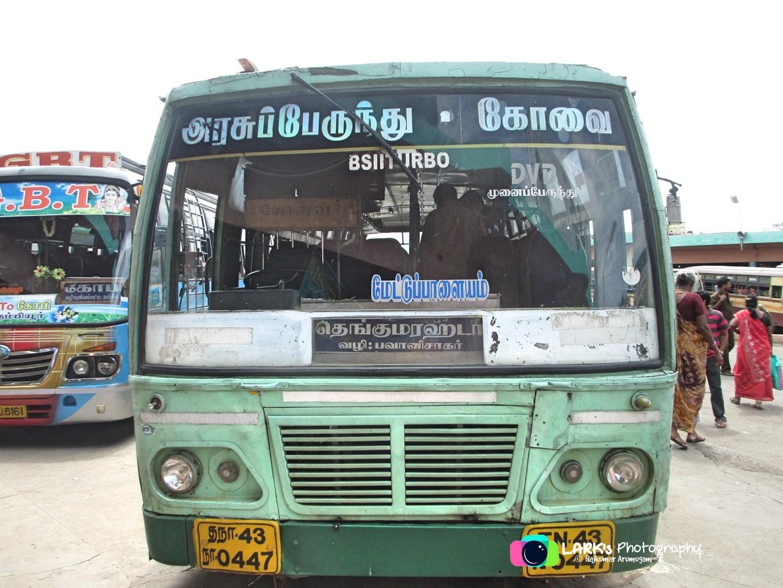 Coimbatore – Thengumarahada [TN 43 N 0447]