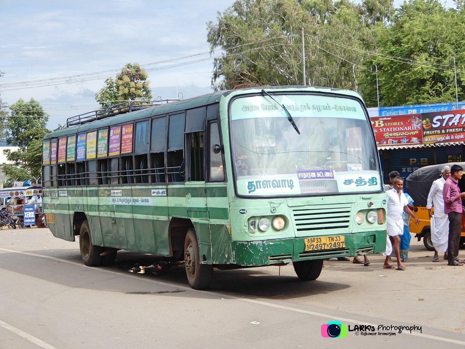 Sathy – Thalavadi (via Thalamalai) – [TN 33 N 2497]