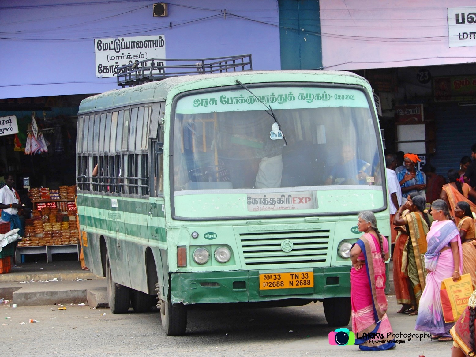 TNSTC TN 33 N 2688 Sathy - Kotagiri