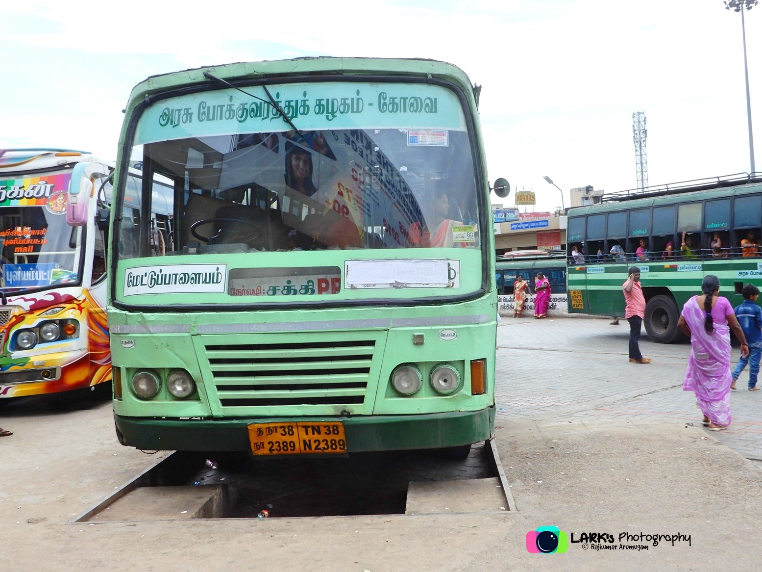 TNSTC TN 38 N 2389 Mettupalayam - Sathy