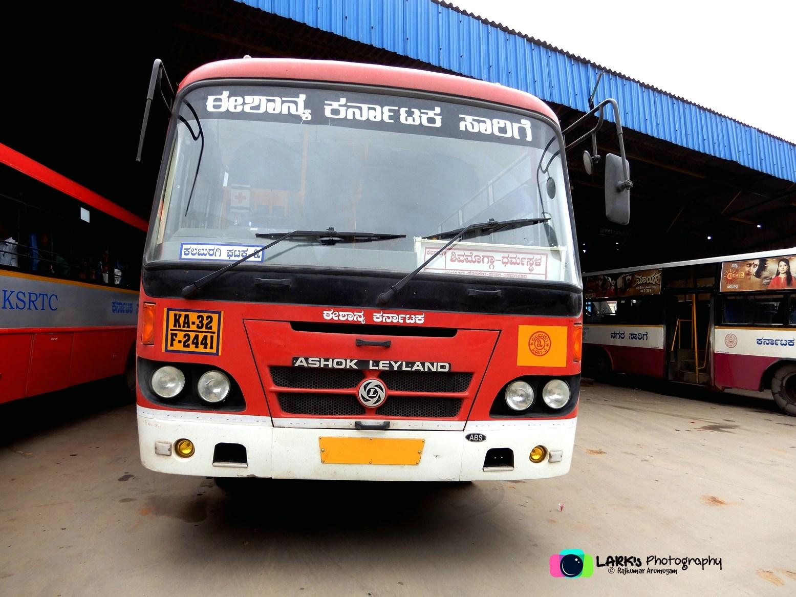 KSRTC-NEKRTC KA-32-F-2441 Kalaburagi - Dharmasthala