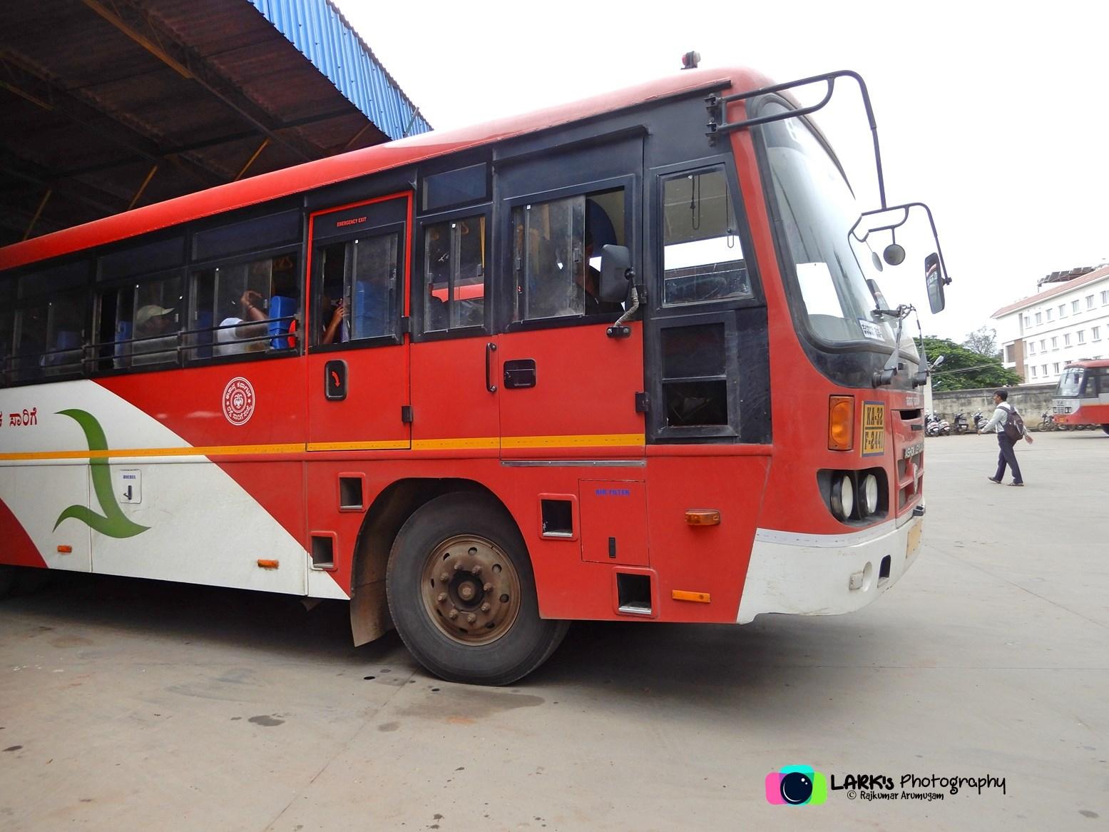 ... KSRTC-NEKRTC KA-32-F-2441 Kalaburagi - Dharmasthala