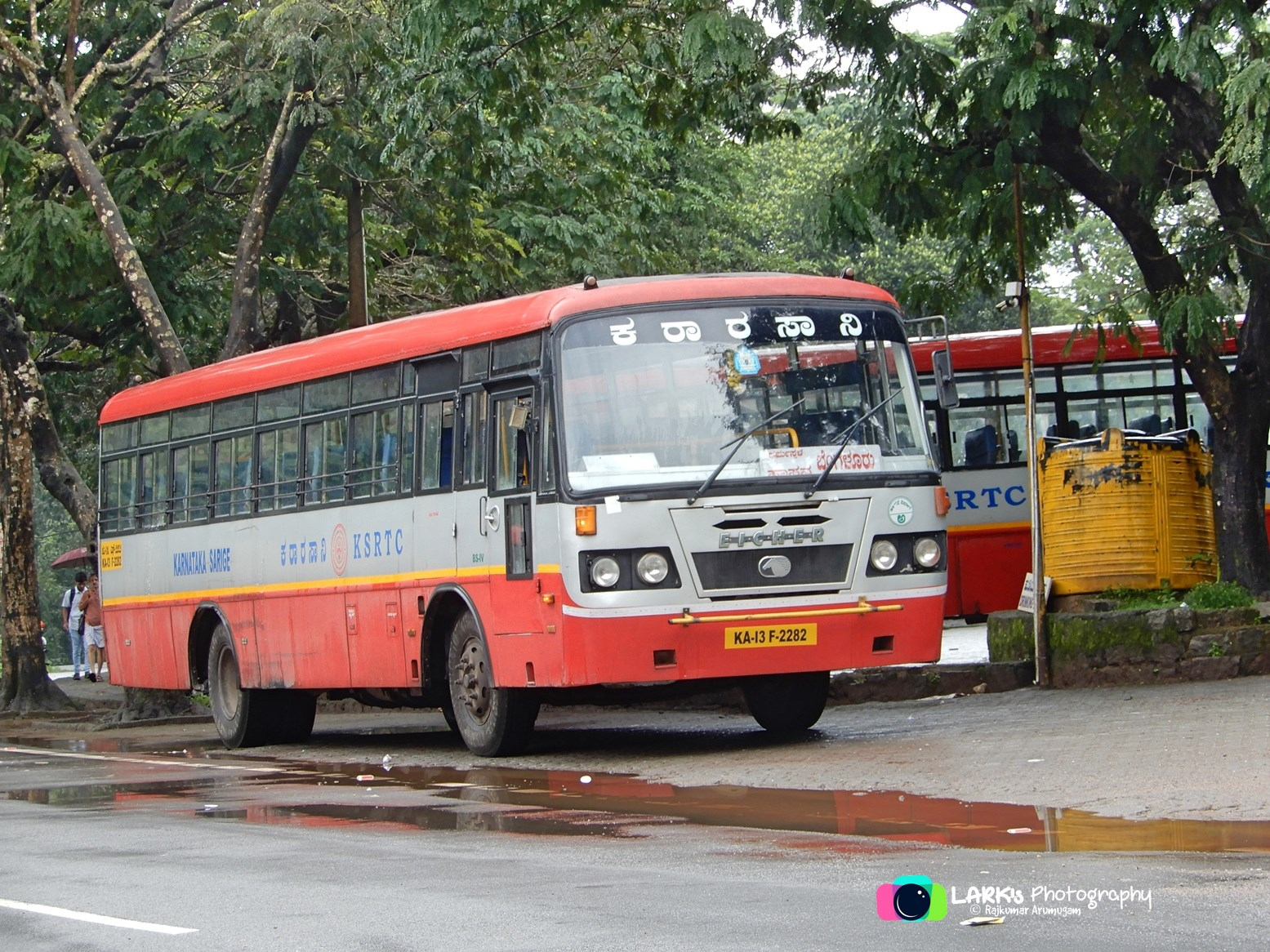 KSRTC KA-13-F-2282 Dharmasthala - Bangalore