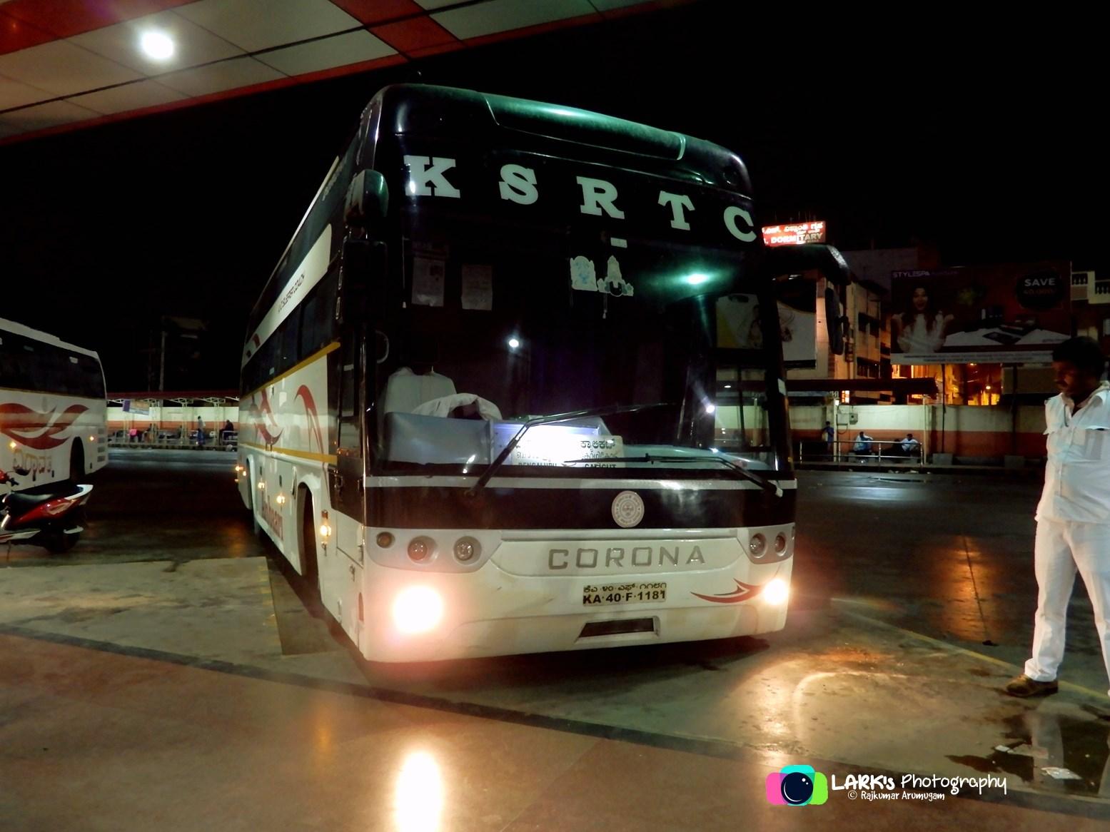 KSRTC KA-40-F-1181 Bangalore - Kozhikode