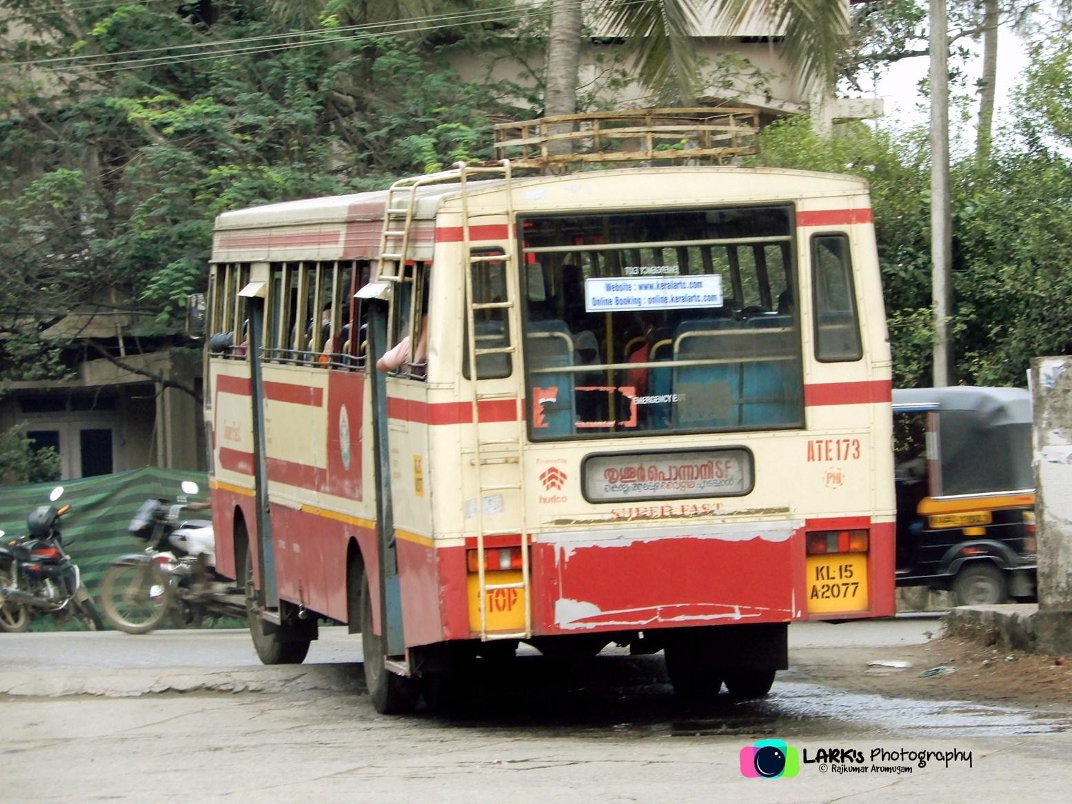 KSRTC – Thiruvananthapuram – Ponnani – [ATE173]